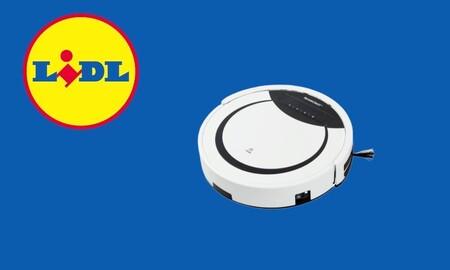 Lidl tiene nuevo robot aspirador barato y aún puedes comprarlo: con seis modos de limpieza y mando a distancia por 124 euros