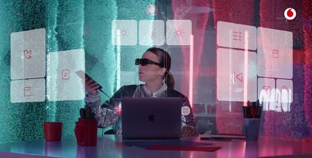 Vodafone ya tiene sus propias gafas de realidad aumentada: precio y disponibilidad de las Nreal Light