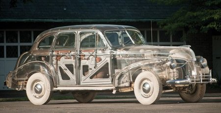 Ghost Car: tu primer coche transparente clásico por sólo 500.000 $