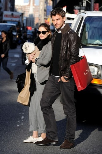 Olivia Palermo y el look 10 para ir de compras