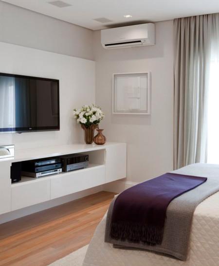 13 diferentes formas de integrar y colocar el televisor en casa - Televisor para cocina ...