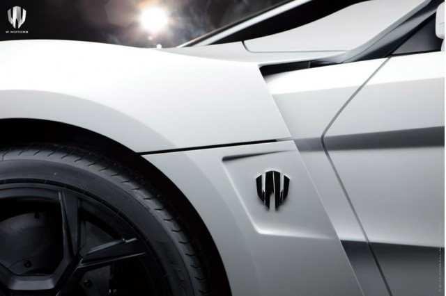 Superdeportivo de W-motors Lykan Hypersport.