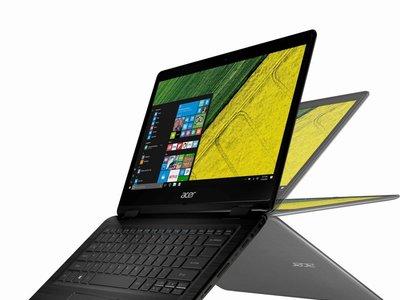 Convertible Acer Spin 5 de 256GB, con Core i7 y pantalla táctil de 13,3 pulgadas, por 739 euros