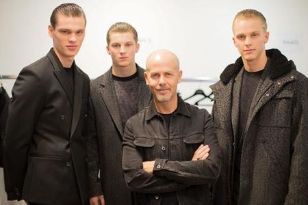 Italo Zuchelli firma la colección otoño-invierno 2015 para Calvin Klein presentada ayer durante la MFW de Milán