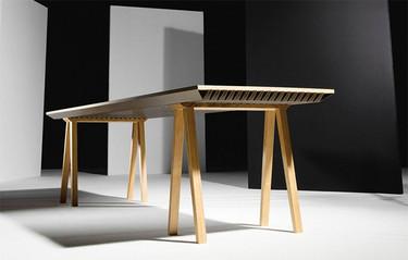 ZEF, la mesa que enfría o calienta el ambiente sin energía