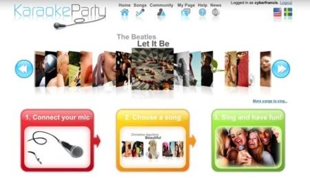 Karaoke Party, pon a prueba tu destreza como cantante a través de Internet