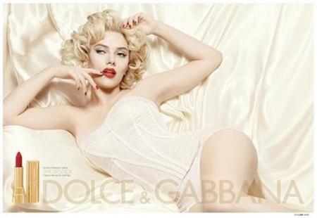 Scarlett Johansson para Dolce & Gabbana Beauty, primera foto