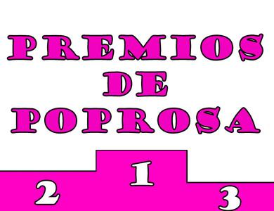 Premios Poprosa 2012: ¡¡Ya tenemos ganadores!!