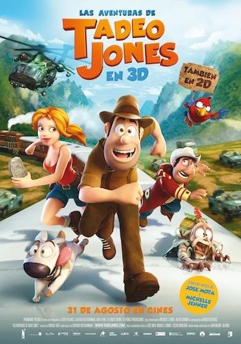 Estrenos de cine infantil: 'Las aventuras de Tadeo Jones'
