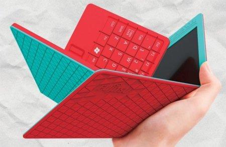 Flexbook de Fujitsu, un concepto de gadget convertible del futuro