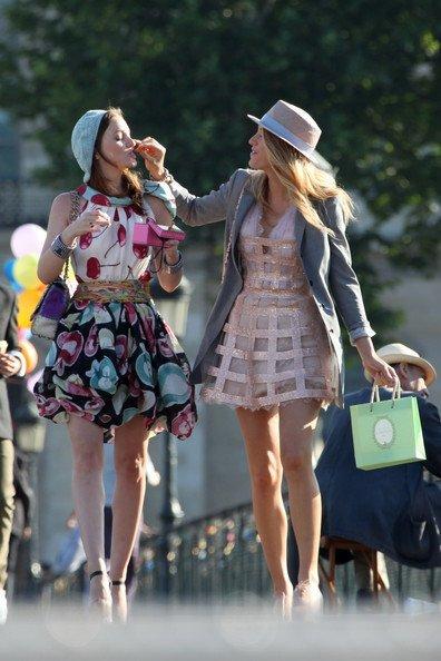 Los nuevos estilismos de Gossip Girl: cuarta temporada