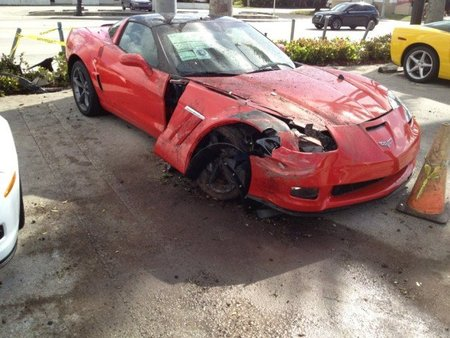 Corvette Accidente 2
