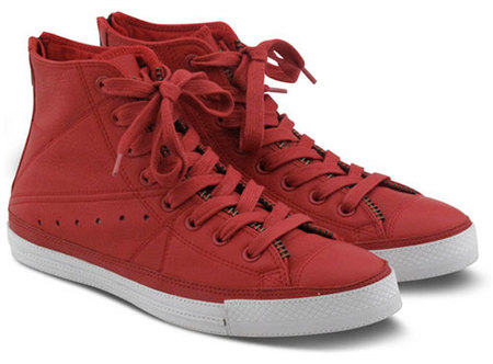 Cuero rojo para tus pies