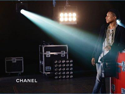"""Pharrell es el nuevo embajador del bolso """"Gabrielle"""" de Chanel"""