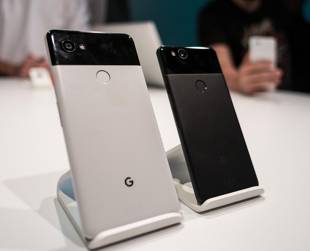 Google Pixel dos y Pixel dos XL