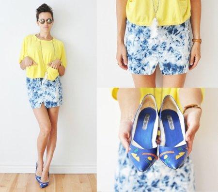 Amarillo moda calle