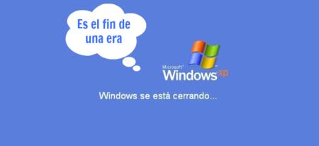 De verdad que Windows XP finaliza su soporte en Abril de este año, pero verdad de la buena