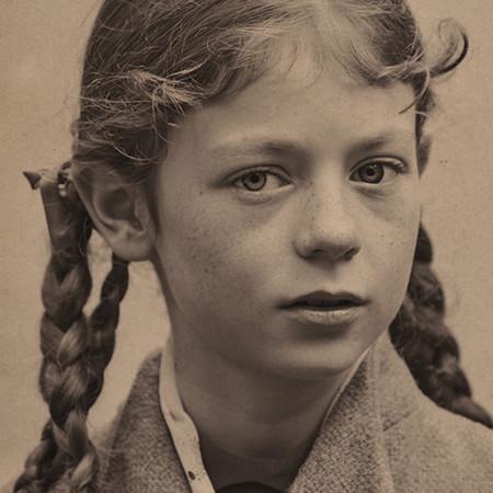 Claudia Tiedemann joven