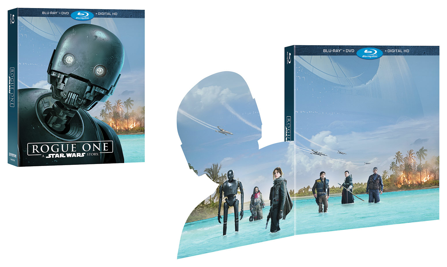 'Rogue One' en DVD y Blu-ray