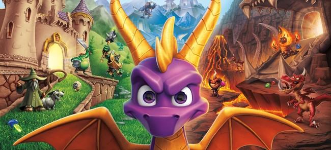 Spyro Reignited Trilogy solo incluye uno de los tres juegos en el disco