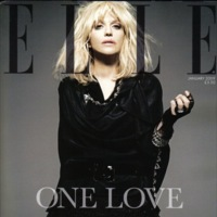 La moda tiembla, Courtney Love portada de Elle UK en enero
