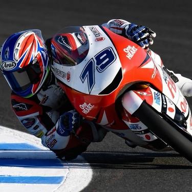 Dominio japonés de Ai Ogura en Le Mans en unos entrenamientos de Moto3 marcados por hasta once caídas