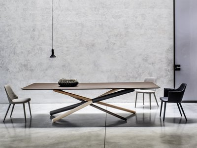 La arquitectura llega a la mesa, W de Bross eleva la decoración en los espacios más sencillos