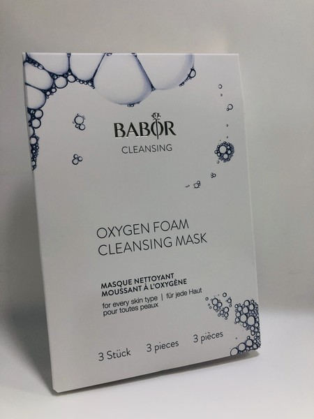 babor cleansing oxygen foam cleansing mask burbujas