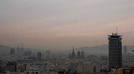 Barcelona Contaminacion 2015