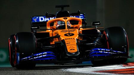 Carlos Sainz Abu Dabi F1 2020
