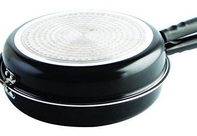 Dale la vuelta a la tortilla sin liarla con esta sartén doble de Quid Gastro Fun. 19,99€ en Amazon