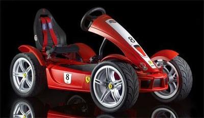 Pon un Ferrari FXX a pedales en la vida de tu chaval