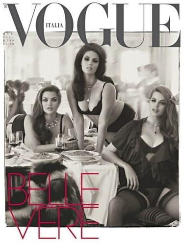 ¡Viva la Sozzani y su portada de mujeres curvilíneas! Cuando más SI es más