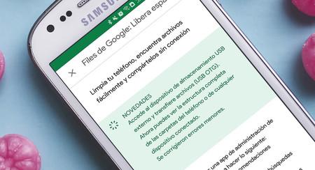 Google Files añade soporte para USB OTG en su cruzada por convertirse en el gestor de archivos definitivo