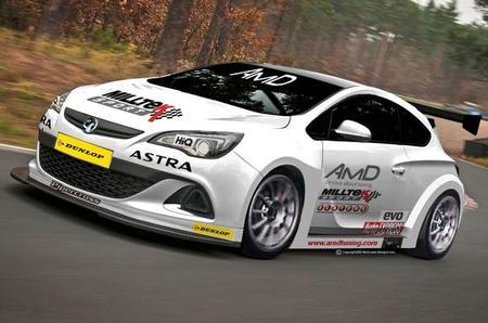 Un Vauxhall Astra para el BTCC