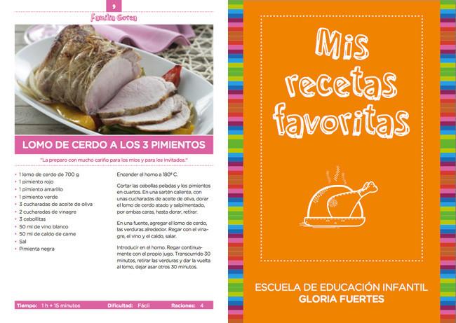 Mis recetas favoritas un libro de recetas de ni os para ni os for Libro escuela de cocina