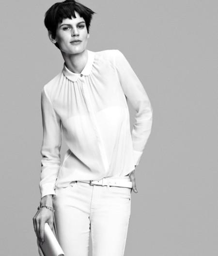 Saskia de Brauw nos presenta una colección en blanco de la mano de H&M