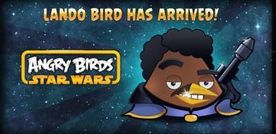 Angry Birds Star Wars recibe los 20 últimos niveles de Cloud City, nuevos potenciadores y a Lando
