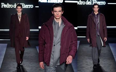 Pedro Del Hierro Otono Invierno 2020 Madrid Fashion Week Trendencias Hombre 02