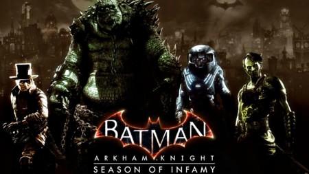 Batman: Arkham Knight pone su punto y final con la llegada del pack Season of Infamy