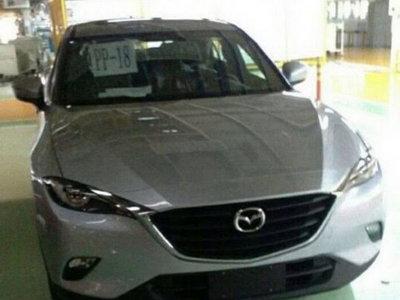 El nuevo Mazda CX-6, justo como no esperabas verlo: al desnudo