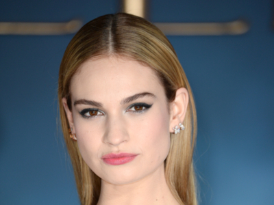 7 peinados para descubrir a Lily James, la nueva Cenicienta de Hollywood