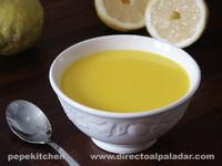 Avgolemono, sopa griega de limón. Receta