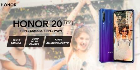 No todo es Xiaomi: Huawei Honor 20 Lite de 128GB en oferta este fin de semana por 169 euros y envío gratis