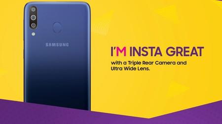 Galaxy M30: un integrante más a la familia de smartphones de Samsung con notch, ahora con tres cámaras