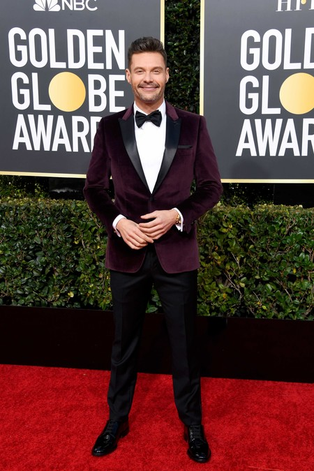 Ryan Seacrest Red Carpet Gondel Globe Awards 2019 Alfomba Roja Trendencias Hombre 02