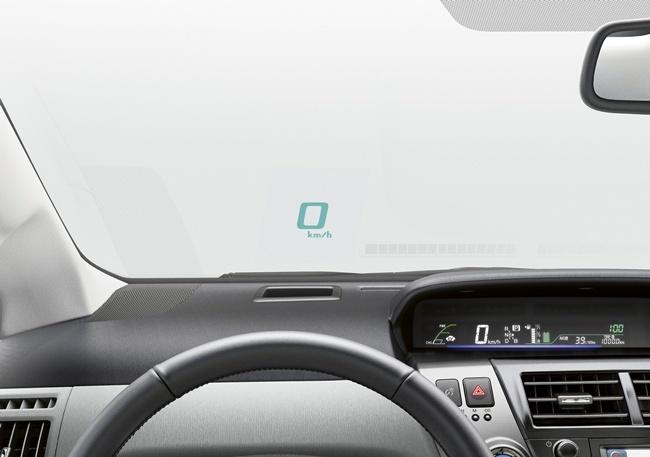 Toyota Prius HUD