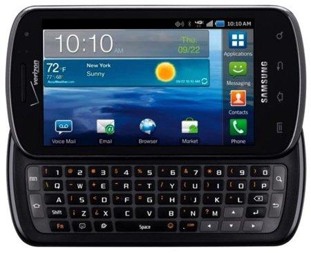 Samsung Stratosphere le pone teclado a la gama Galaxy S