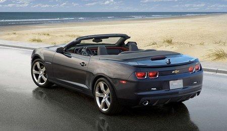 ¡Vuelve el Chevrolet Camaro convertible!