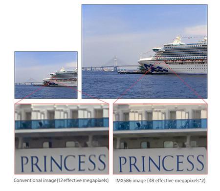 Sony Sensor Cmos Imx586 Pixeles 1 8 Micras